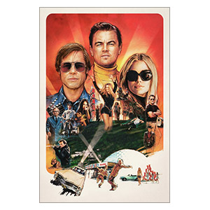 Once Upon a Time... in Hollywood. Размер: 30 х 45 см